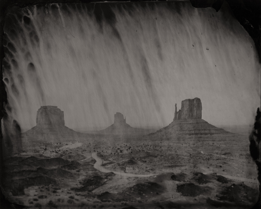 Monument Valley #1 , 2017  Pigment Print on Baryta paper (Diasec Mounted)  60 x 75 inches  Edition of 3