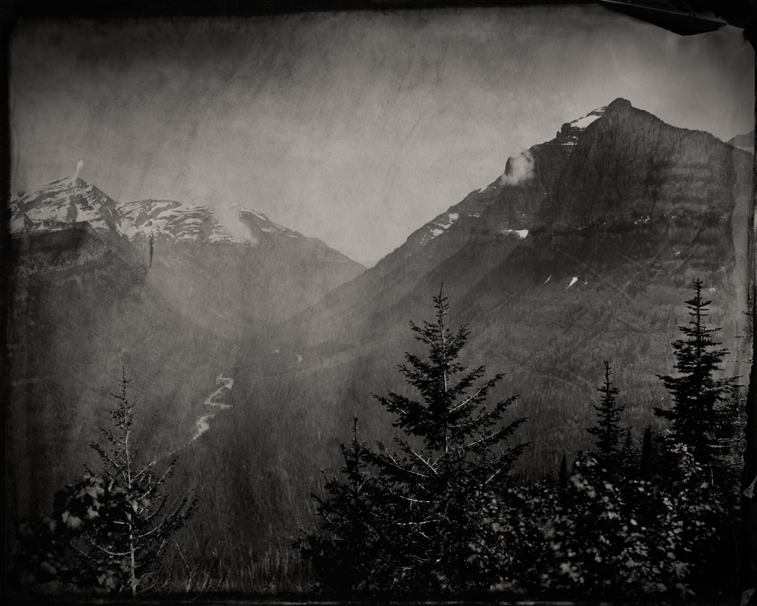 Mount Cannon and U Shaped Valley , 2019  Pigment print on Baryta paper  42 x 52.5 inches  Edition of 5