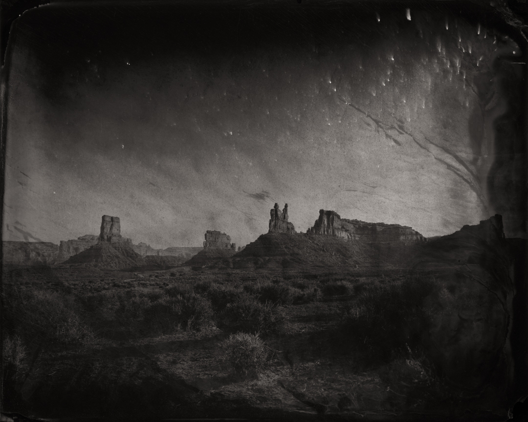 Valley of the Gods #1 (Bears Ears) , 2017  Pigment print on Baryta paper  42 x 52.5 inches  Edition of 5