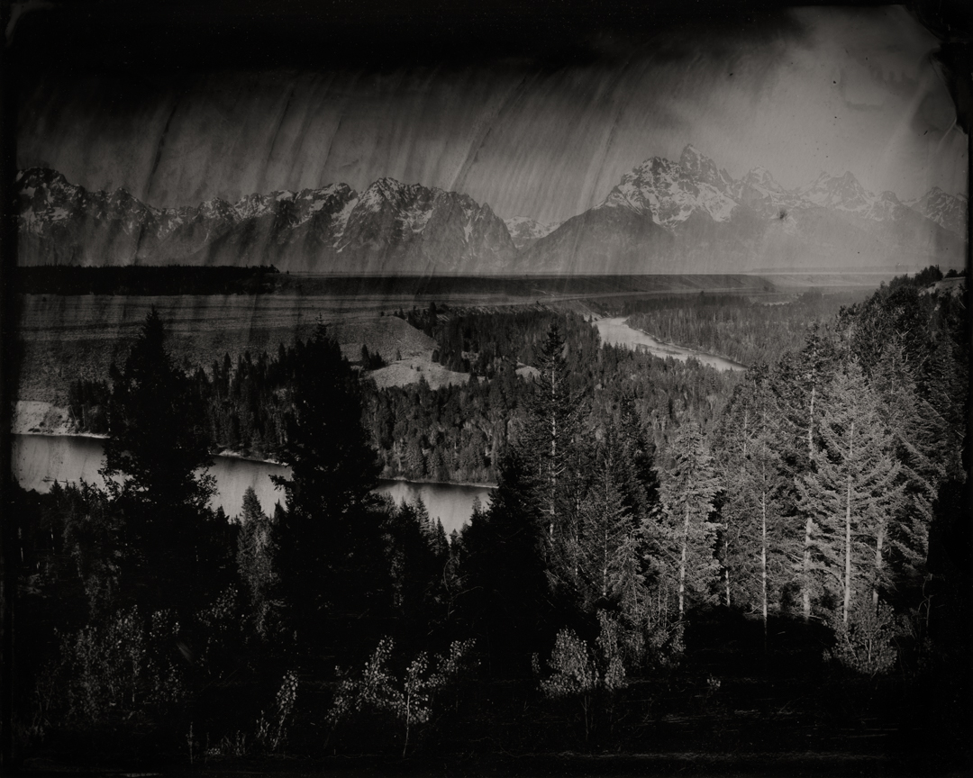 Snake River Overlook #2 , 2019  Pigment print on Baryta paper  42 x 52.5 inches  Edition of 5