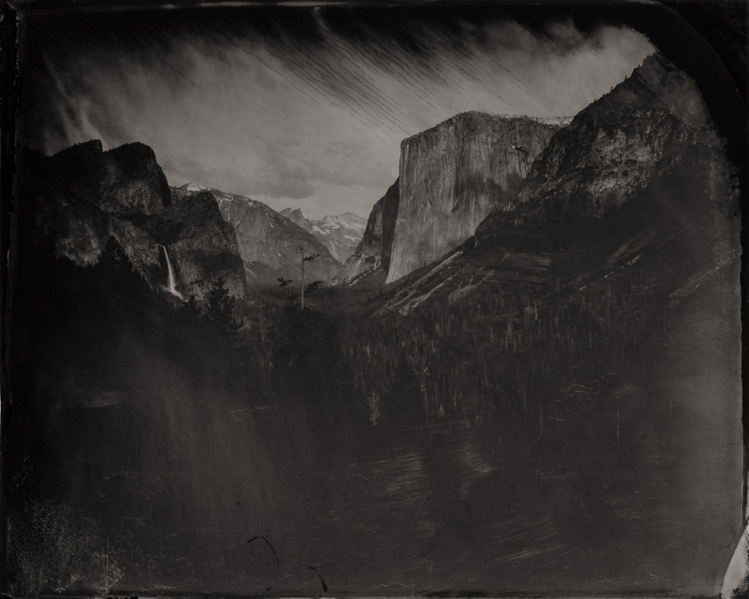 Yosemite #2 , 2016  Pigment print on Baryta paper  42 x 52.5 inches  Edition of 5