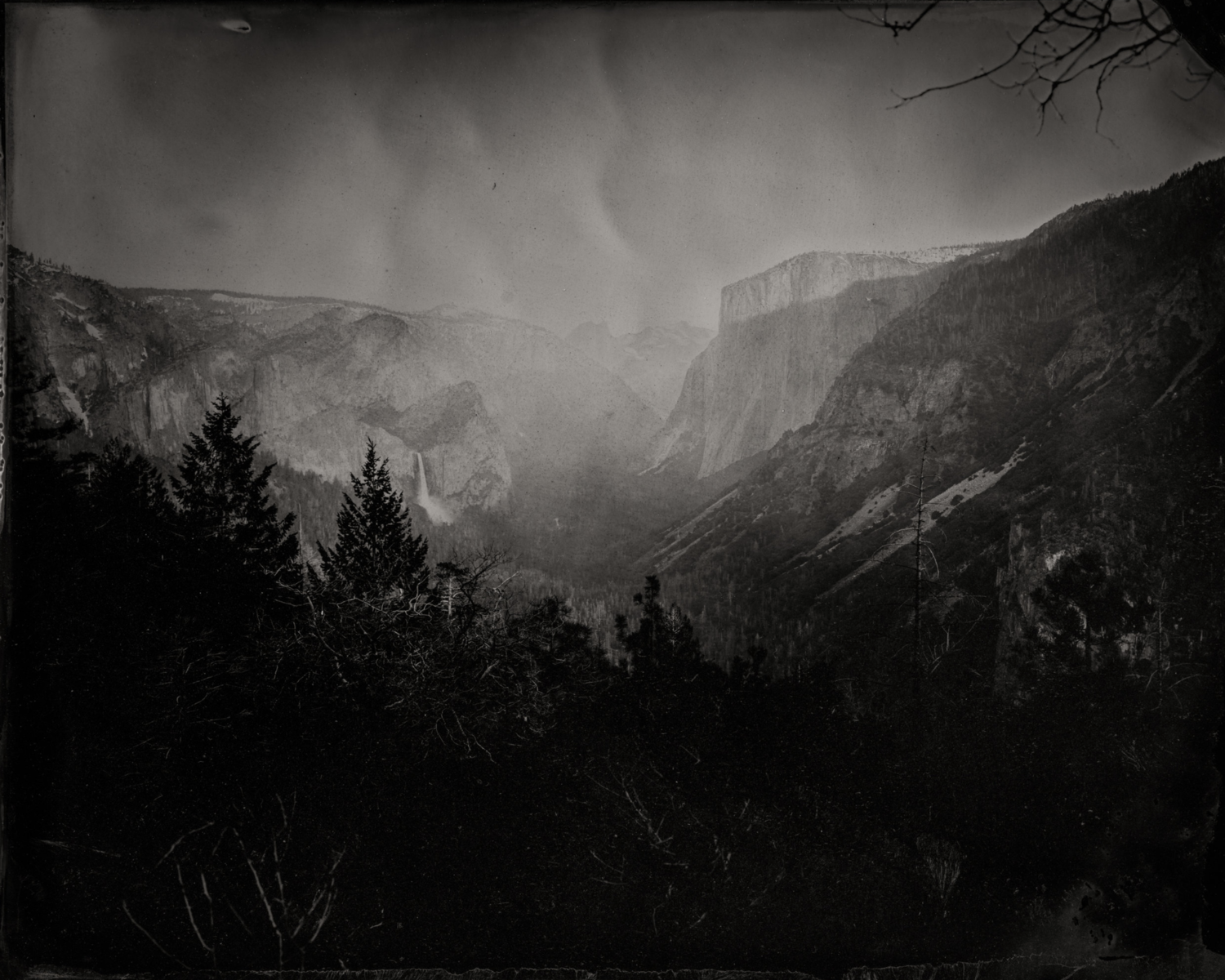 Yosemite from Inspiration Point,  2019  Pigment print on Baryta paper  30 x 37.5 inches  Edition 1 of 7