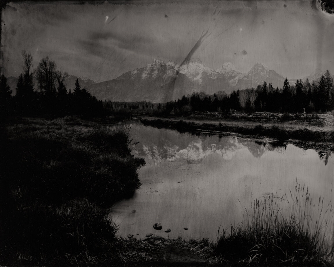 Grand Tetons #5 , 2018  Pigment print on Baryta paper  42 x 52.5 inches  Edition: 1 of 5