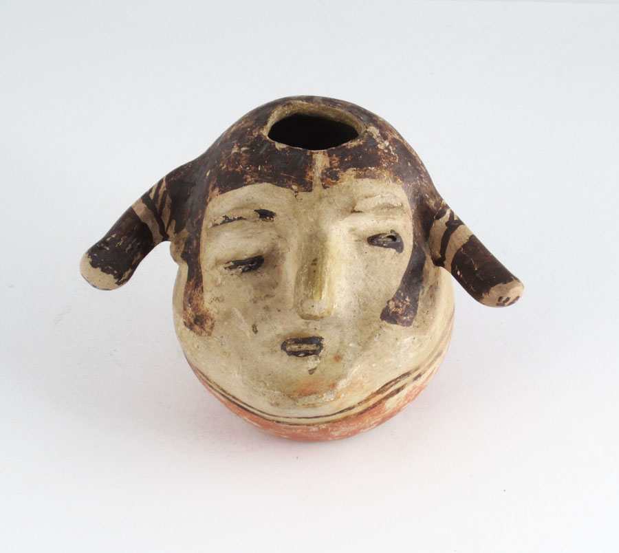 """Cochiti""""face"""" pot, circa 1880-1890. http://www.marcyburns.com/pottery-collection/1f28g6dt4y0hvwepy05y5yskvw8uve"""