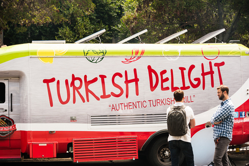 Turkish Delight is amazing. Have the lamb burgers.