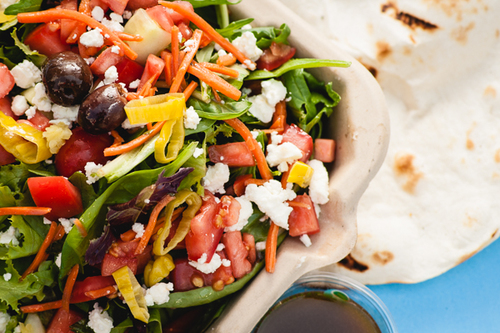 The salad. Amazing.