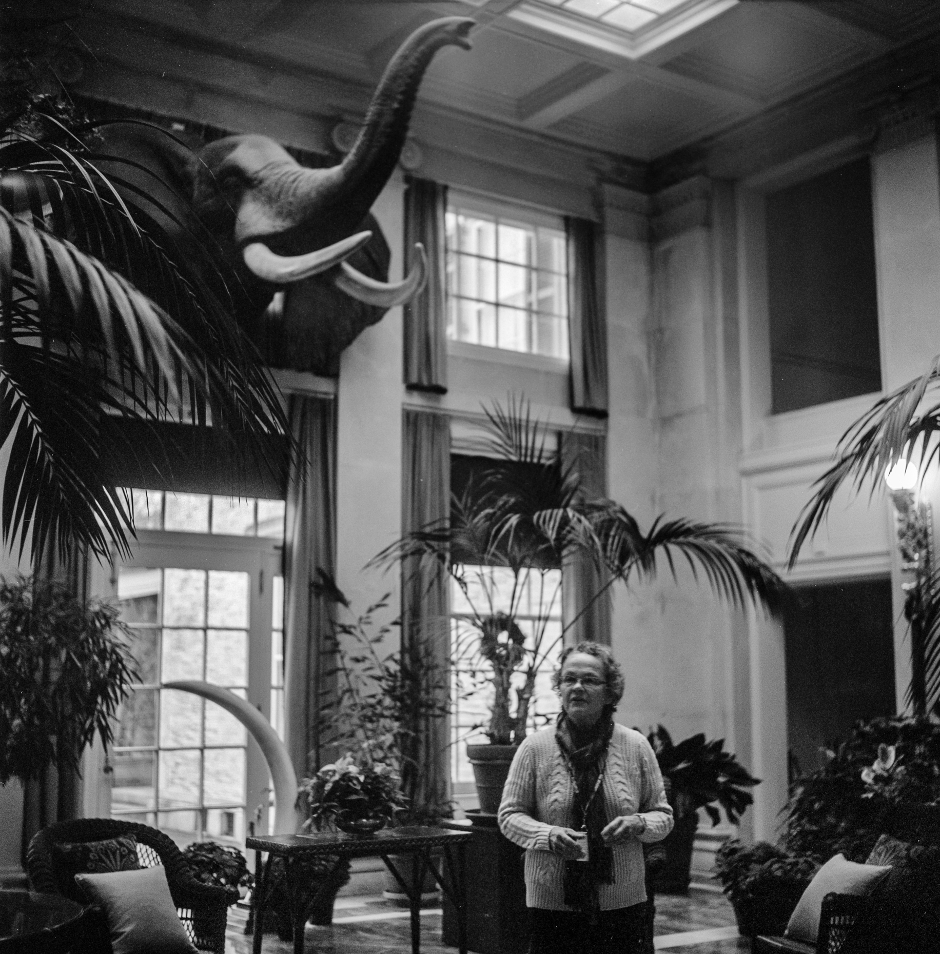 On tour in the Eastman House. Photo: Ian Tuttle