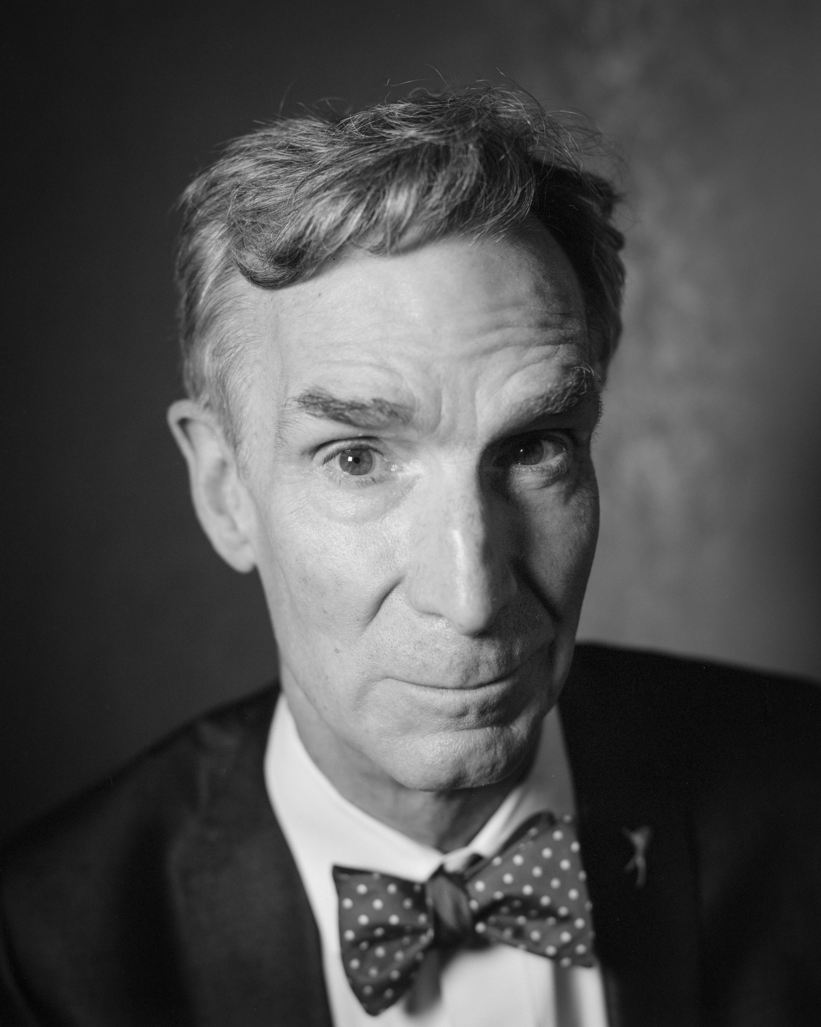 Bill Nye, a few minutes before taking the stage at the Castro Theater on September 10, 2017 ©Ian Tuttle 2017