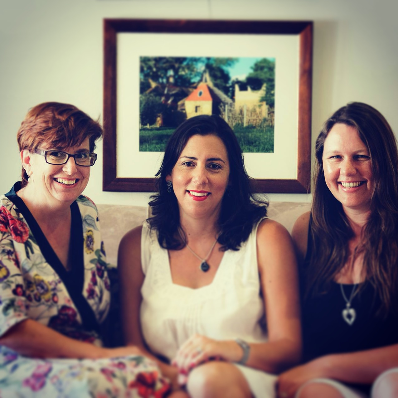 Sally, Danielle and Sonia                                                        Image One Giant Leap Images