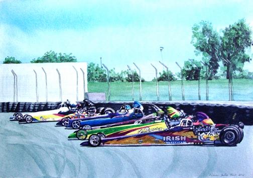 Seven Racecars