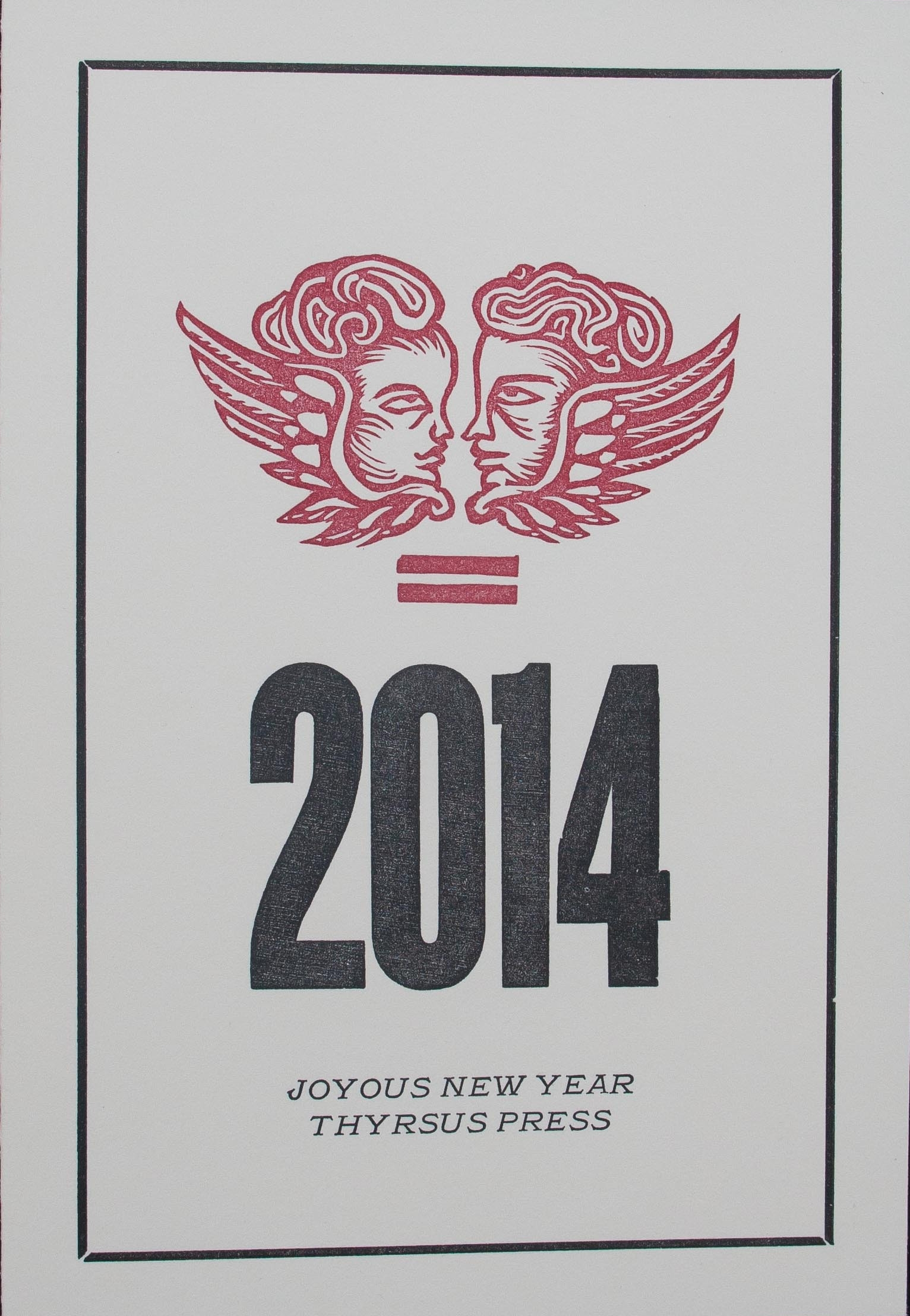New Year's Card (Exterior), 2014