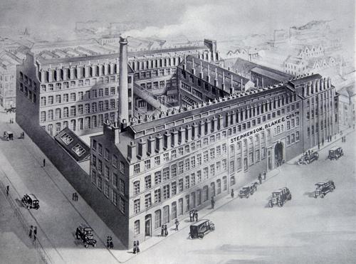 Original Stephenson Blake Foundry (Source: British Letterpress )
