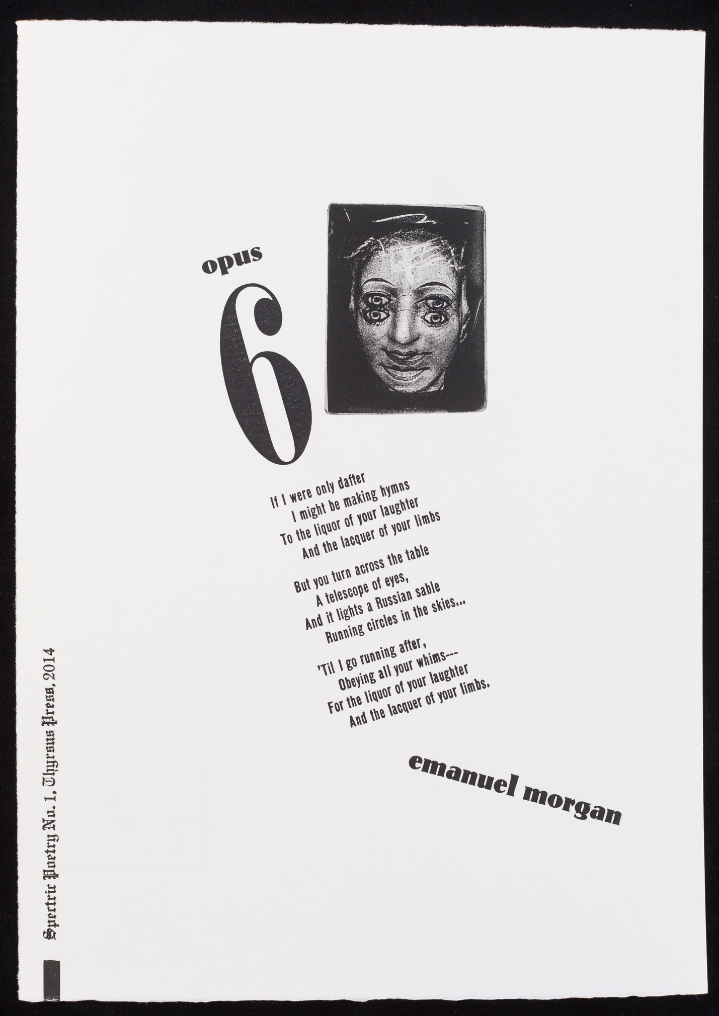 """""""Opus 6"""": No. 1 in the Spectric Poetry Series"""