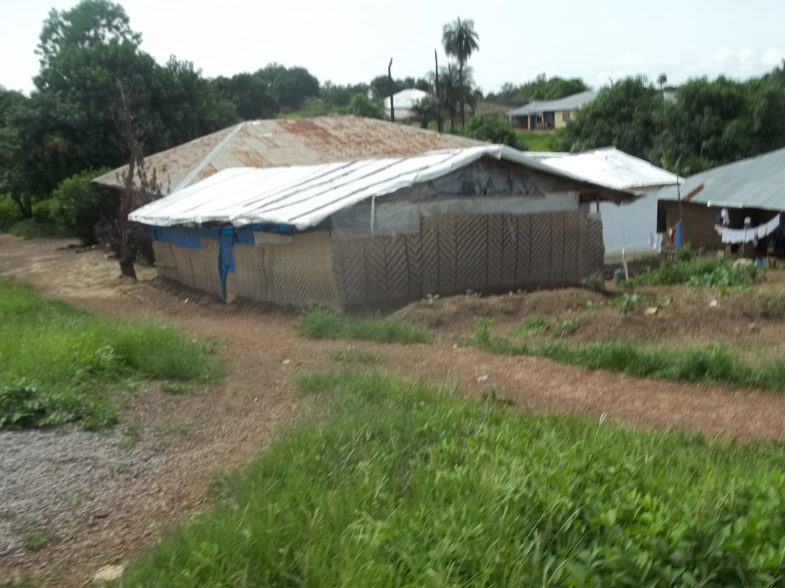 Masuba temporary church