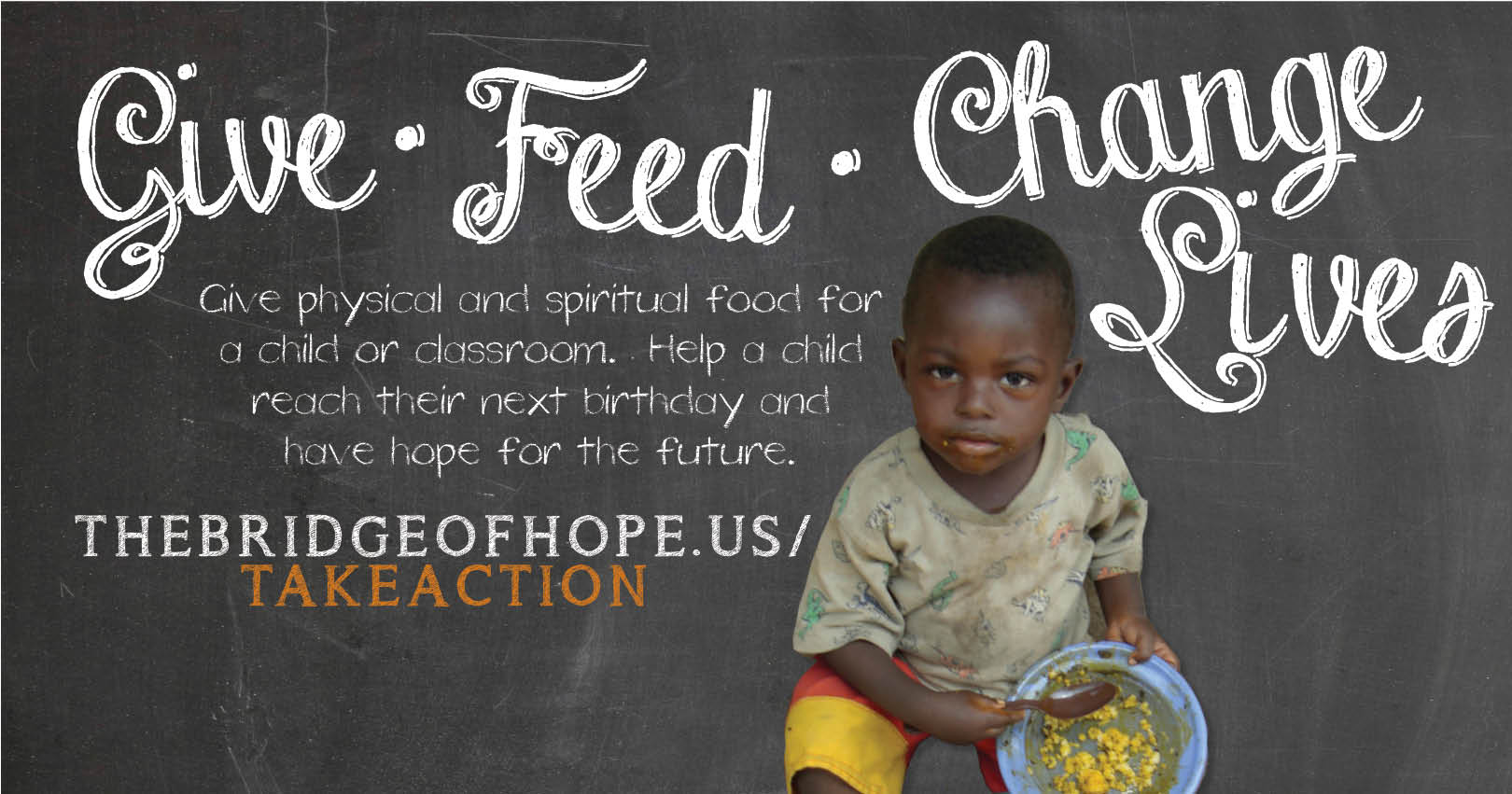 Project FEED - Raise funds to feed children and change lives!