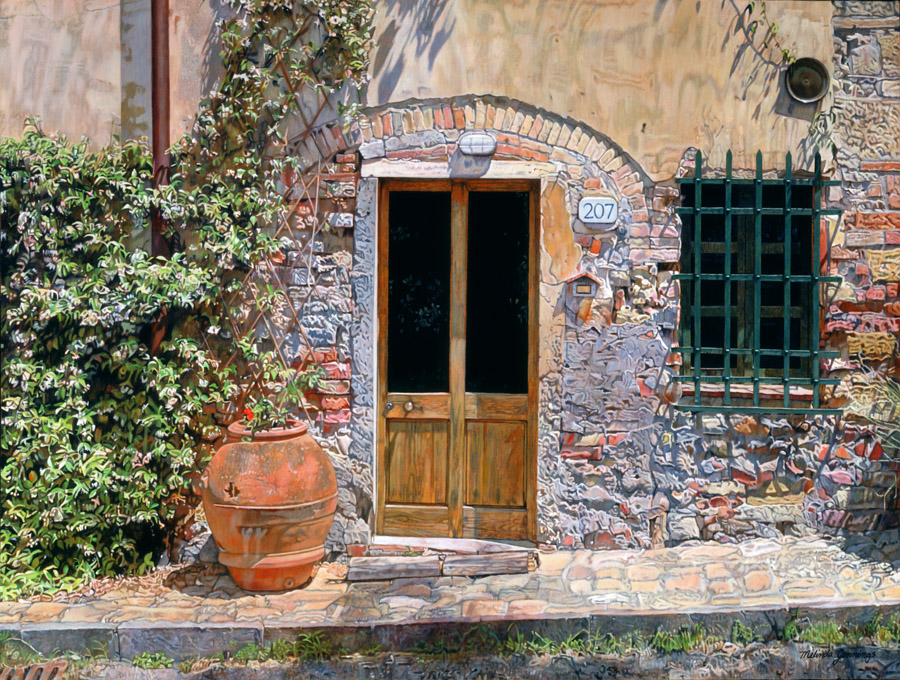 House in Tuscan Hills