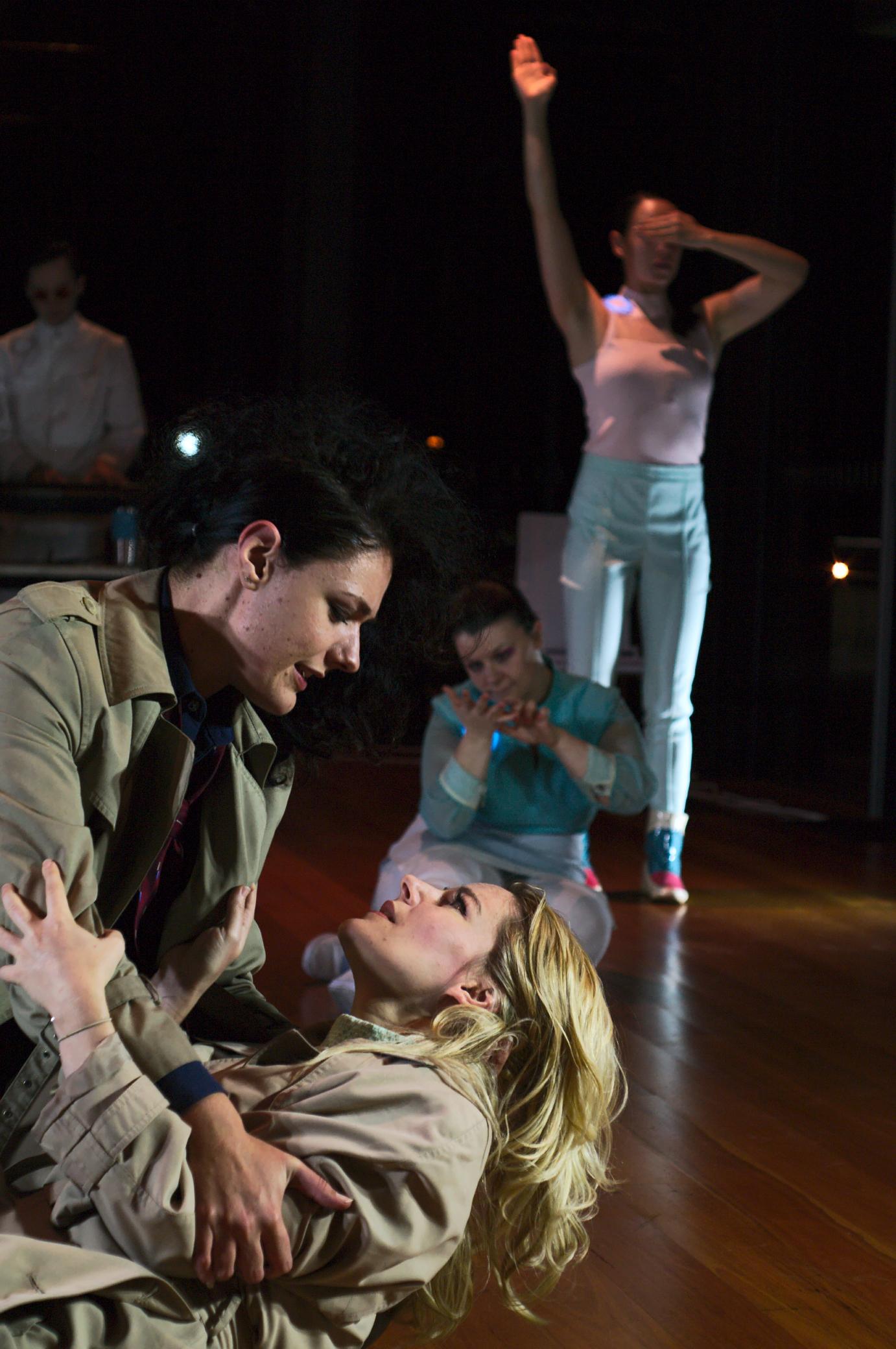 Jasper Garner Gore, Amy Scott-Smith, Katrina Rautenberg, Emily Elise and Jennifer White. Photo by Sasha Cohen.