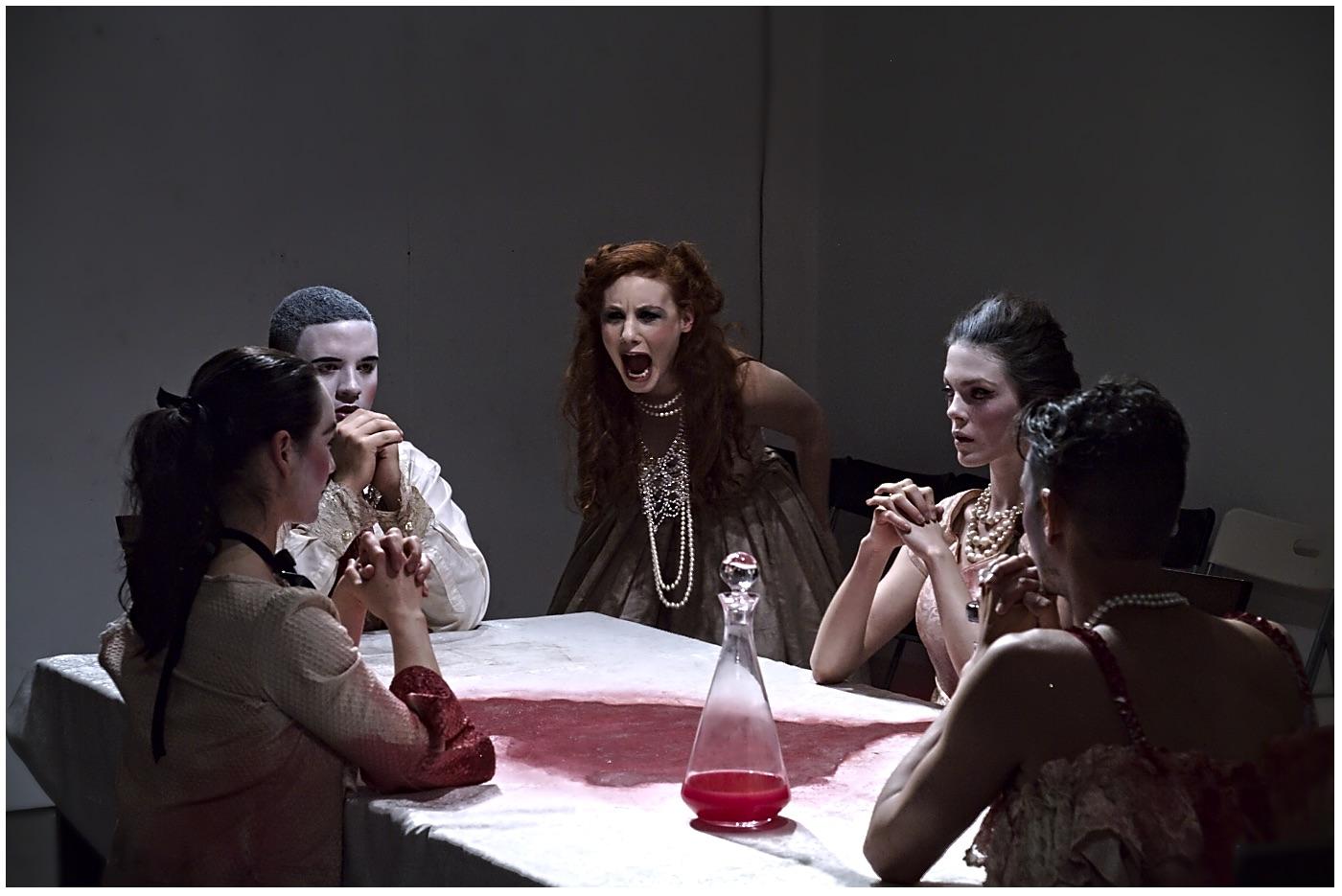 Jennifer White, Cheyne Fynn, Danielle Baynes, Sinead Curry and Nathaniel Scotcher.Photo by Sasha Cohen.