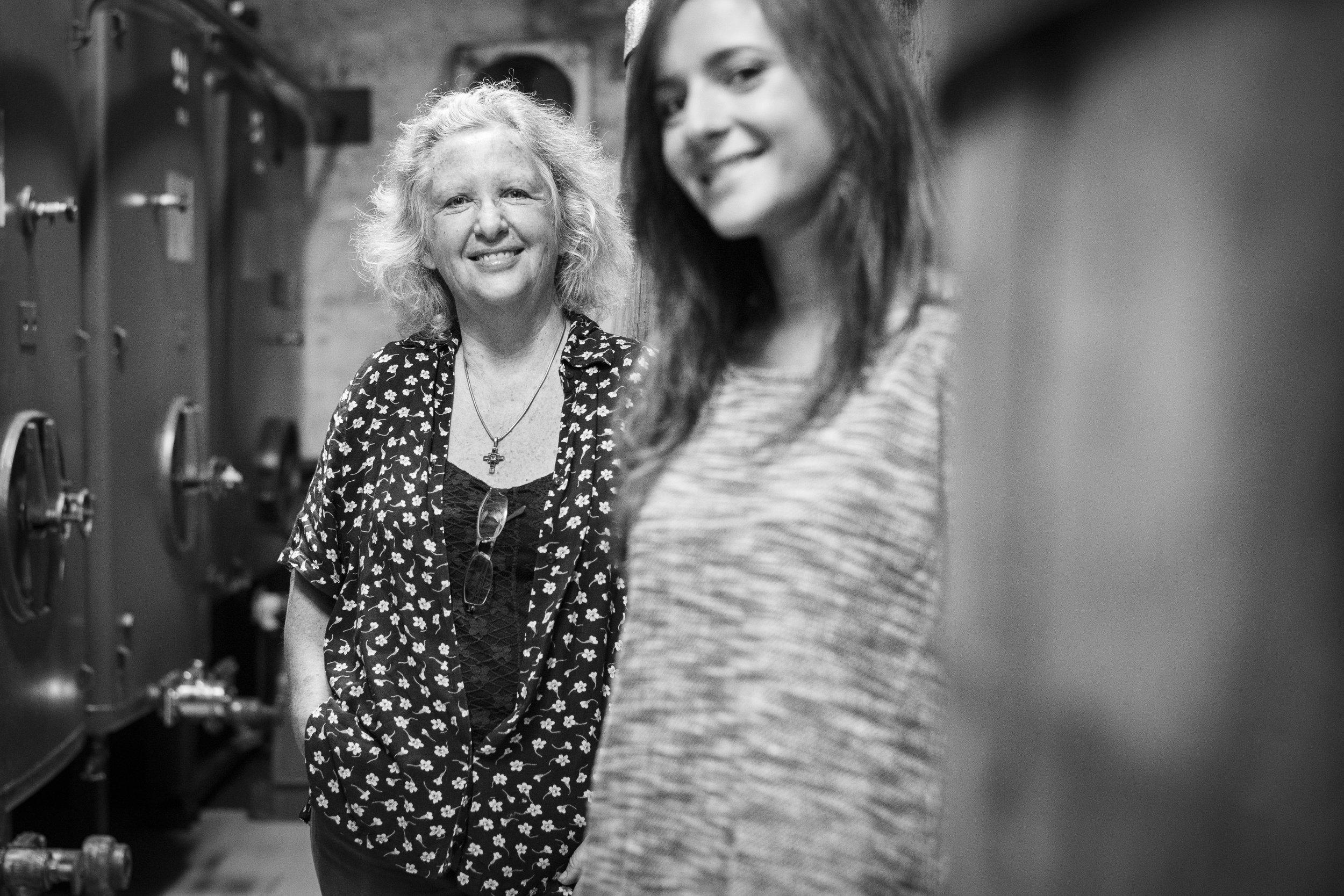 Patricia Boyer-Domergue et sa fille