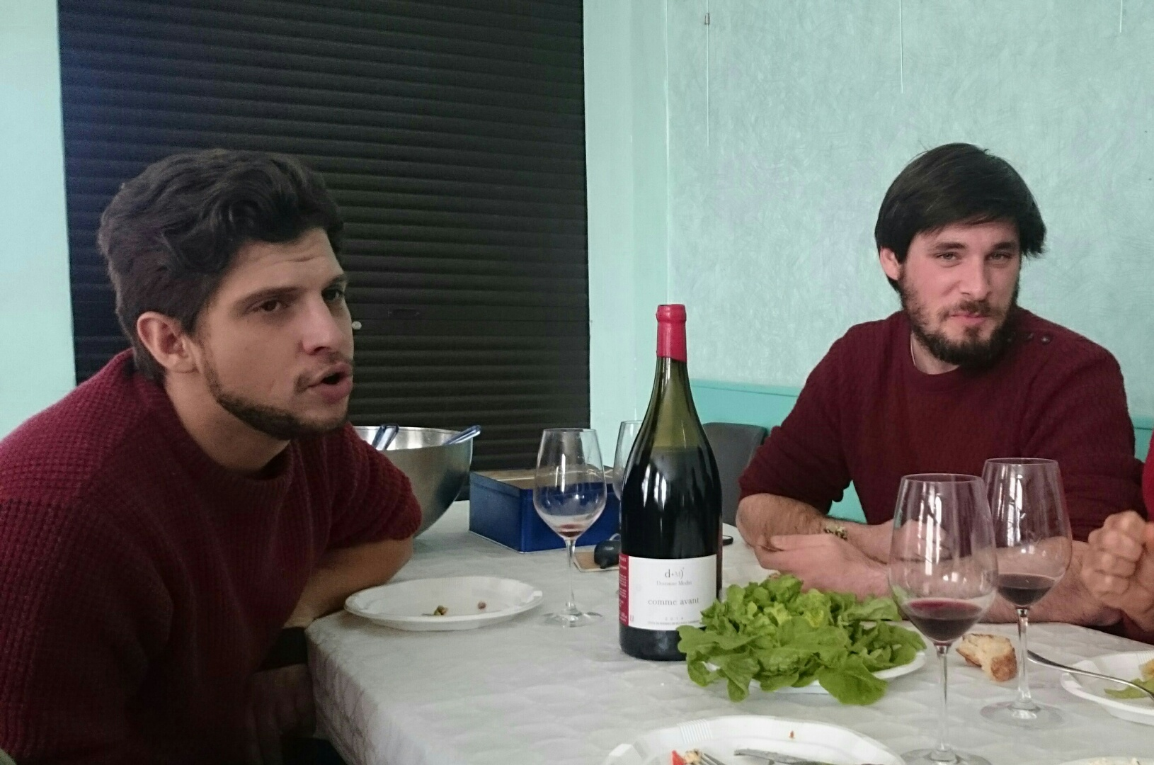 Victor Gardiès et Quentin Modat, vignerons