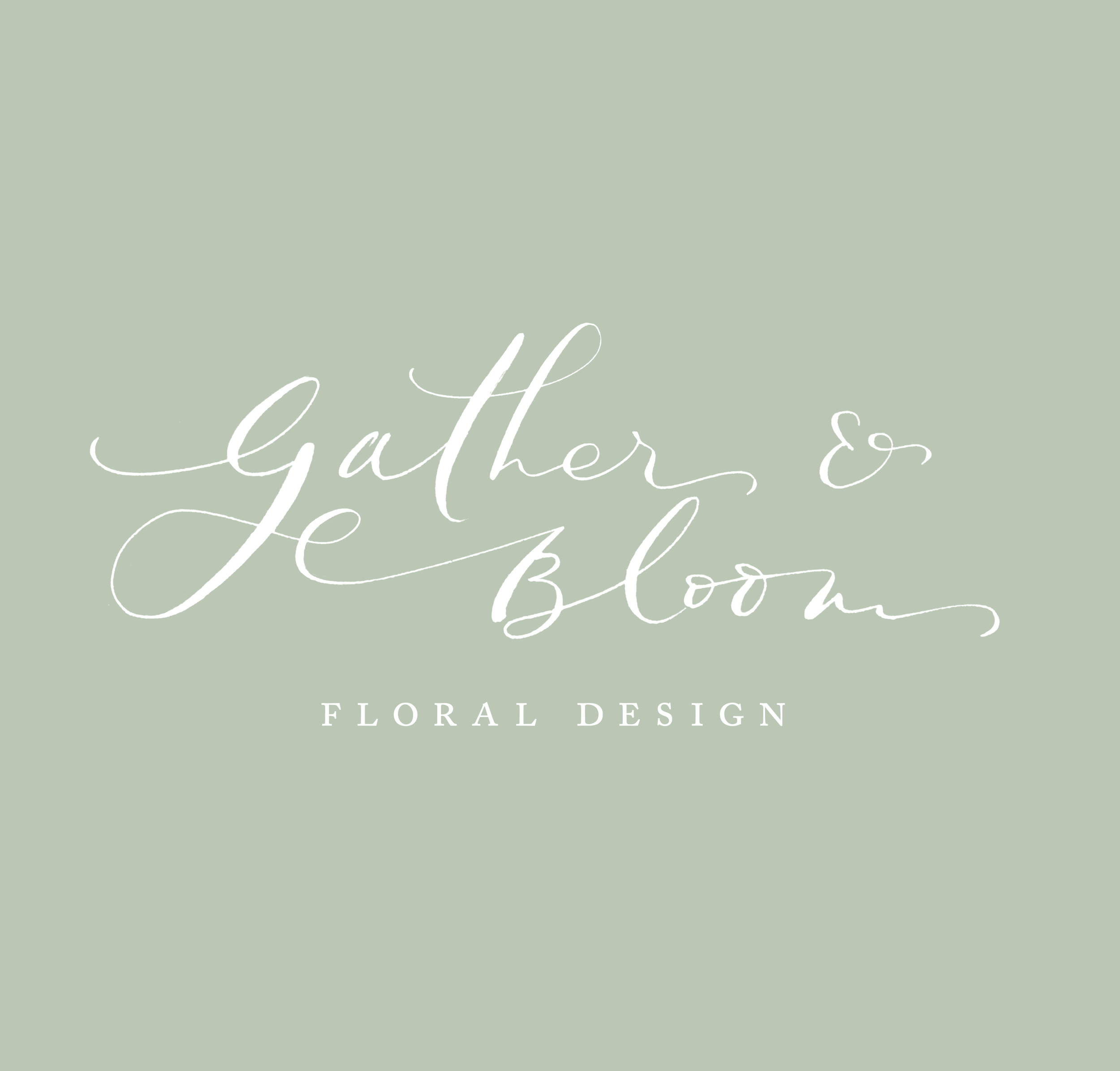 An alternative option I created for Gather & Bloom