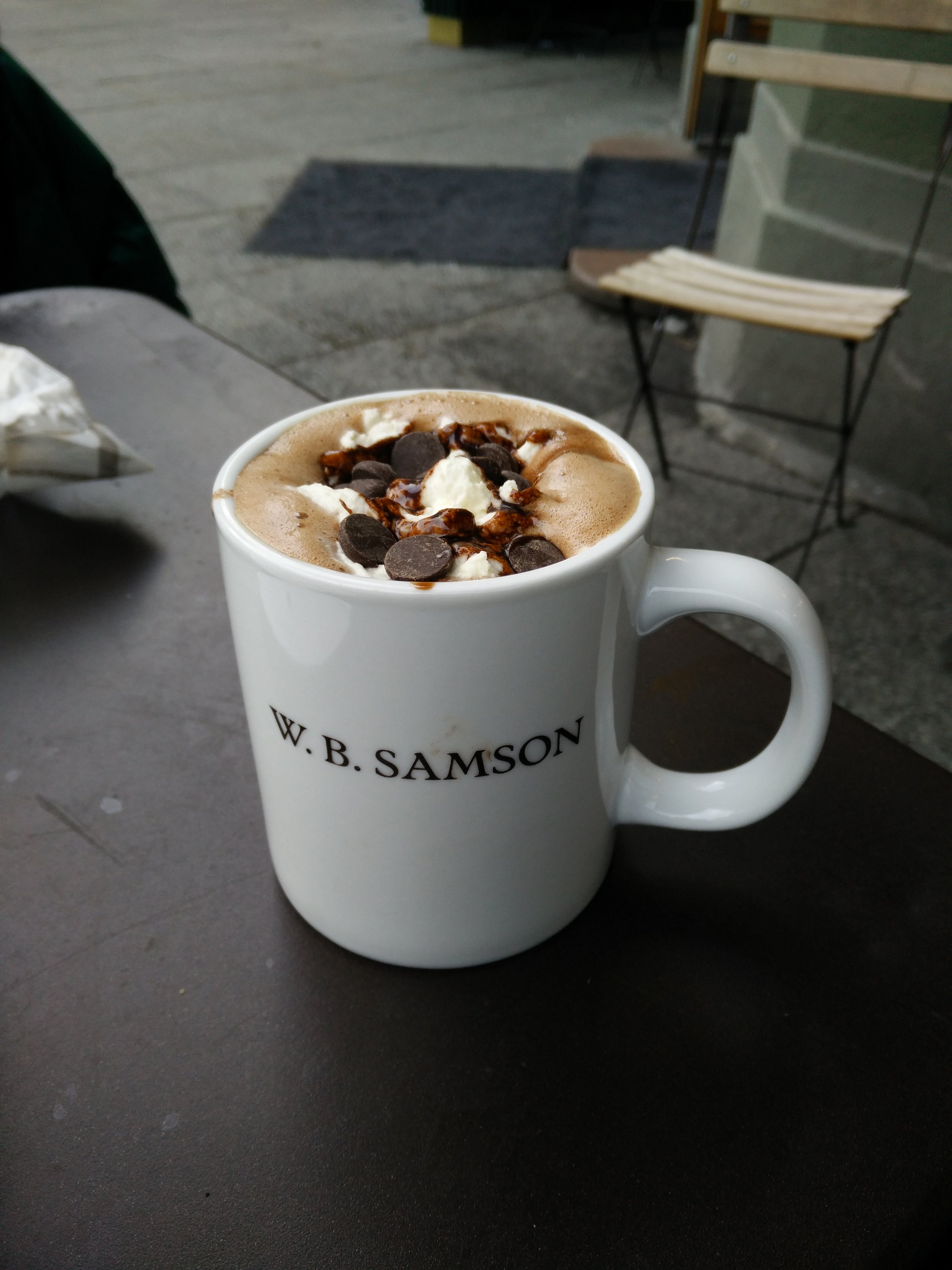 One of the bestest Hot Chocolate in the world!! - Do not forget to add whipped cream on top :)