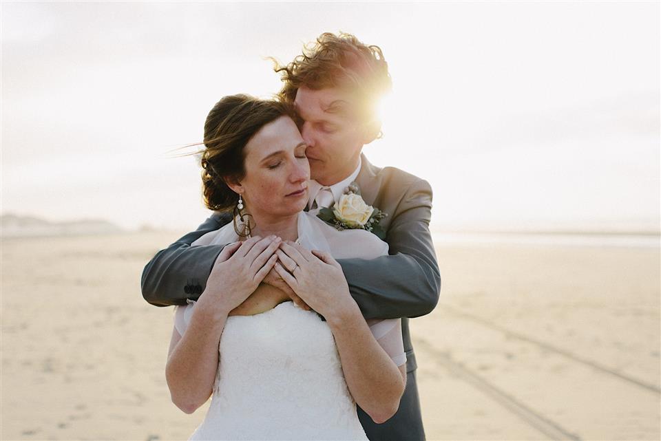 Eervolle vermelding de Masters of Dutch Wedding Photography - Terschelling strand bruiloft