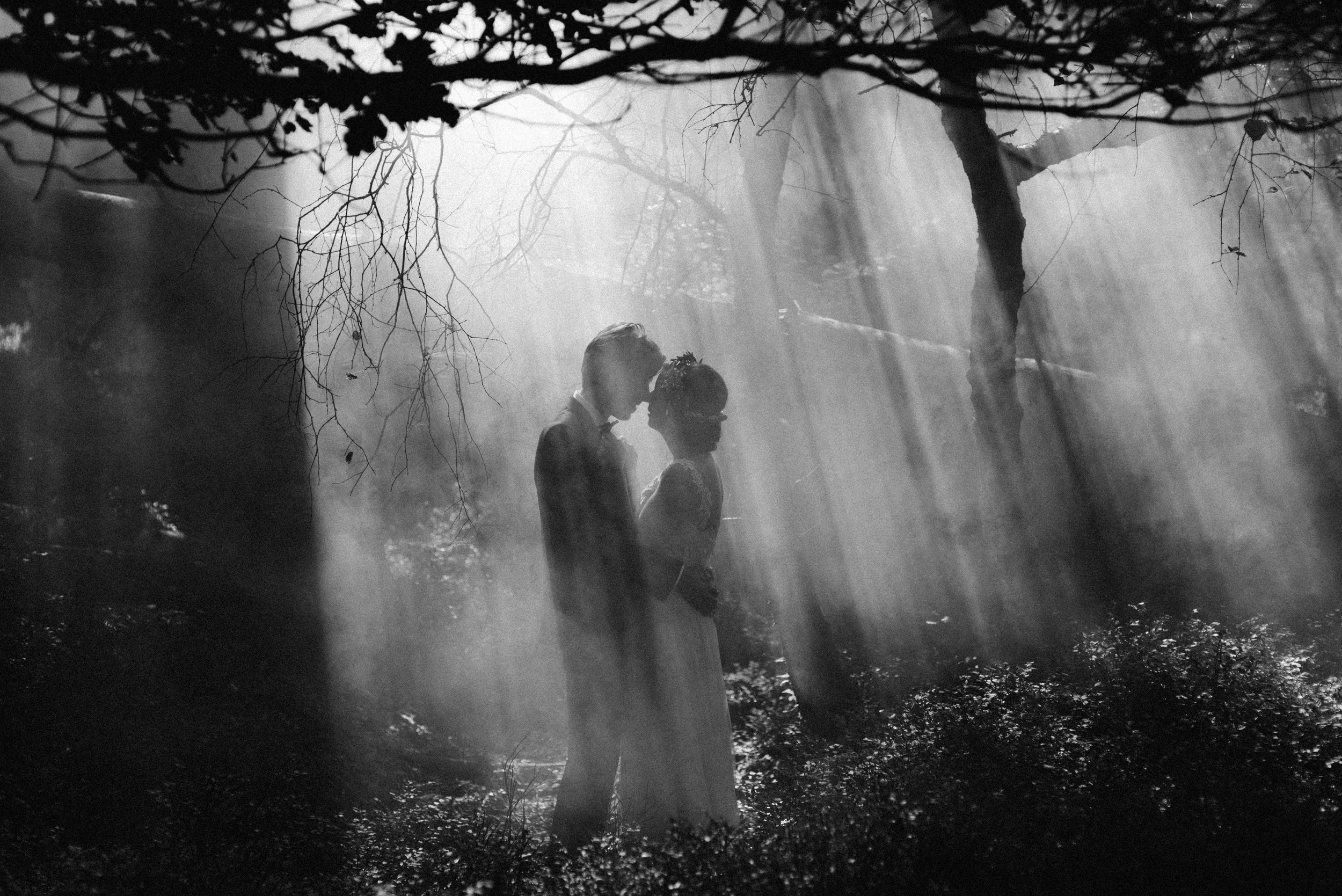 Dromerige bruidsfotografie