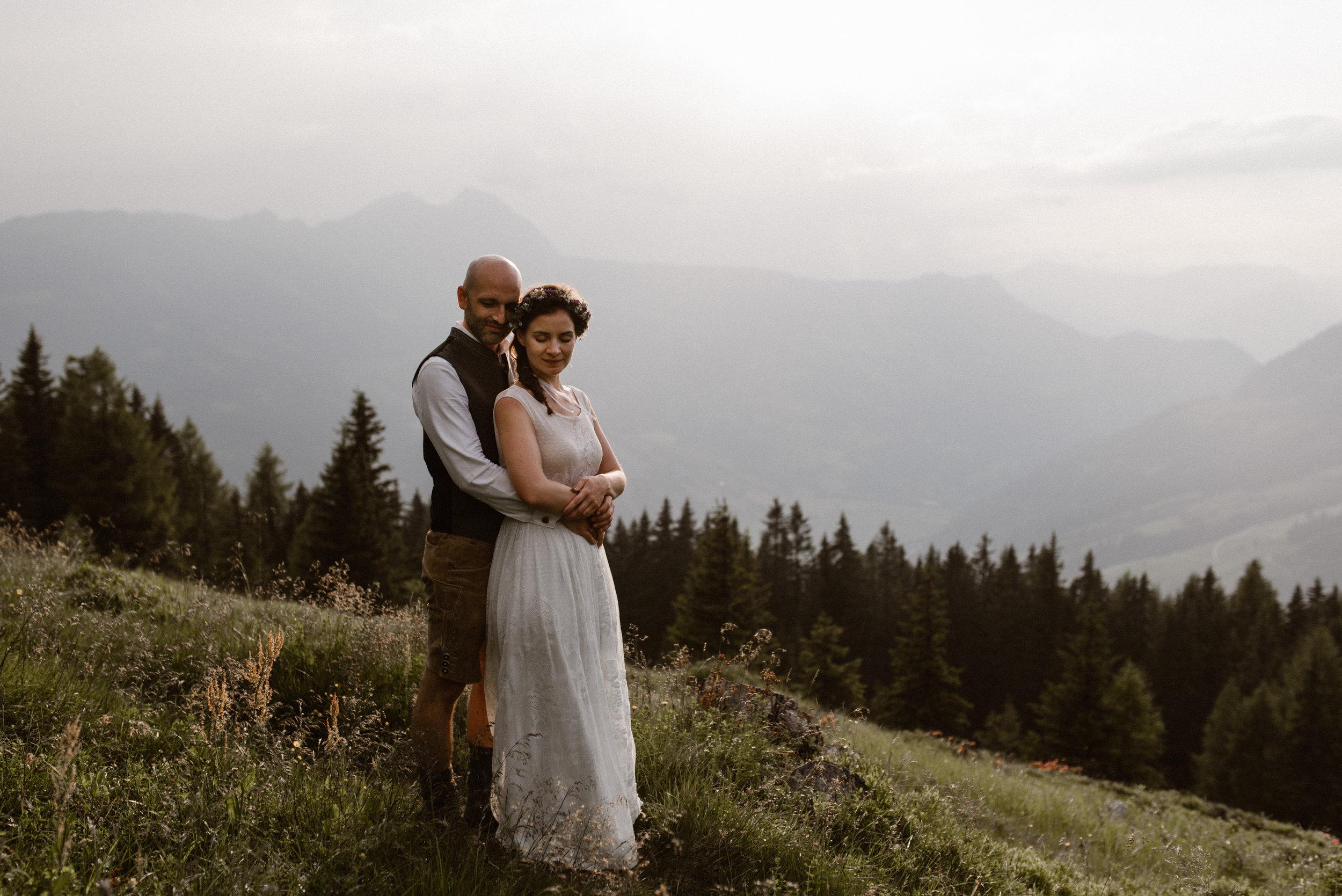 Mountain wedding photographer