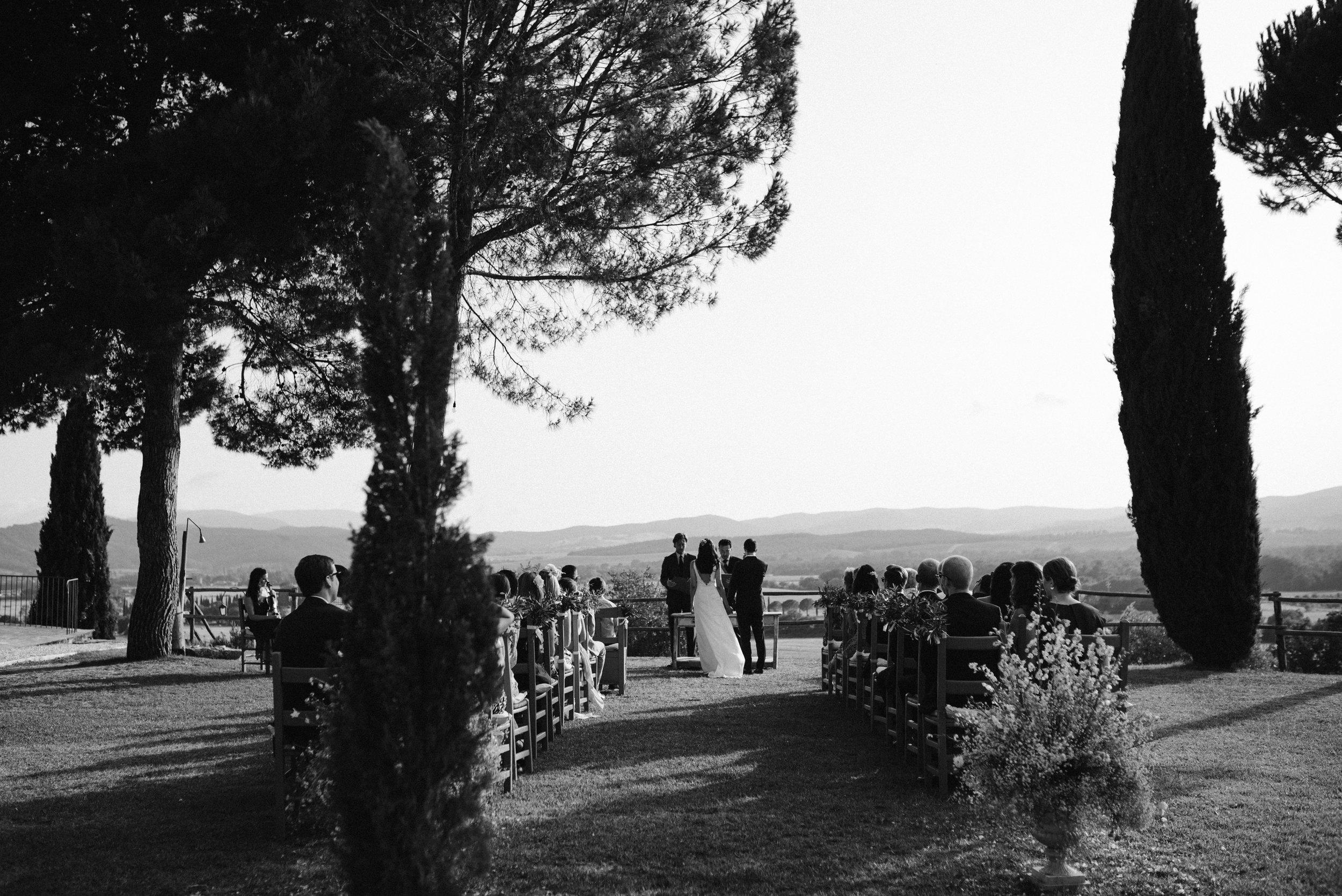 Trouwen in Toscane