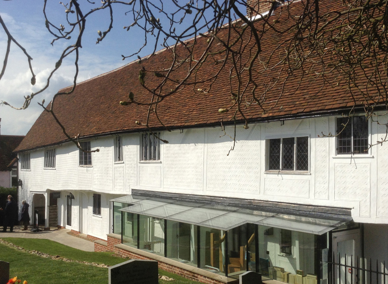 Finchingfield Guildhall rear elevation