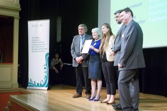 Finchingfield Guildhall take home two RIBA awards