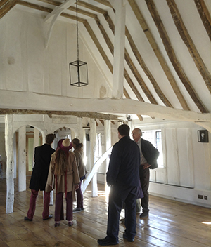The Guildhall is now available to hire and for tours. - Please contact us direct if you would like to hire the Guildhall or visit on a scheduled group tour. Min group size 10. Tours are approximately 1 1/2hours and include a selection of homemade cakes with tea and coffee. There is a talk about the history of the Guildhall, an overview of the project and its architecture, and access to the interactive museum.