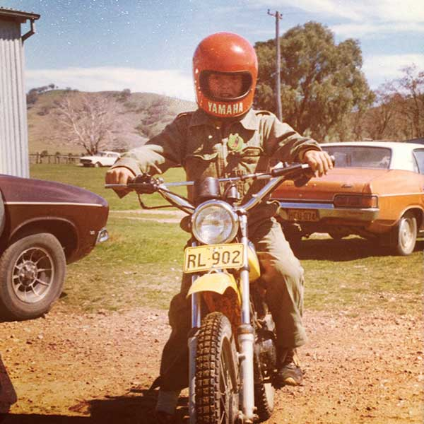 "Lue Station 1978 - Now known as  ""Louee Enduro and Motorcross Complex"""