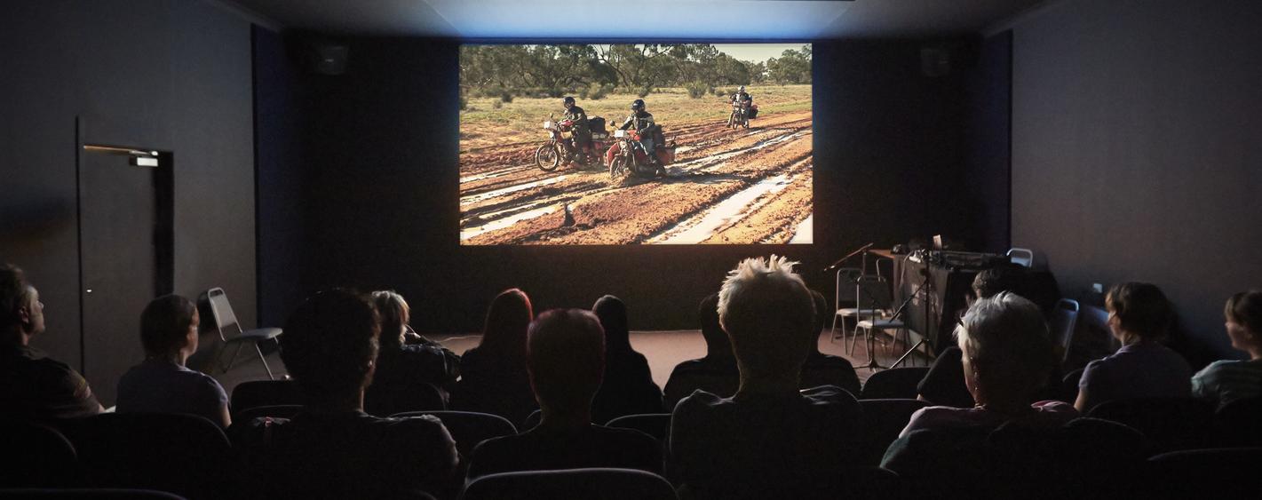 Arrows of Fire screening - A Vision Splendid Outback Film festival - July 2014