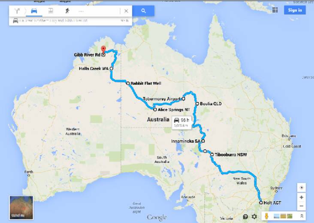 Yikes, that is a long way!