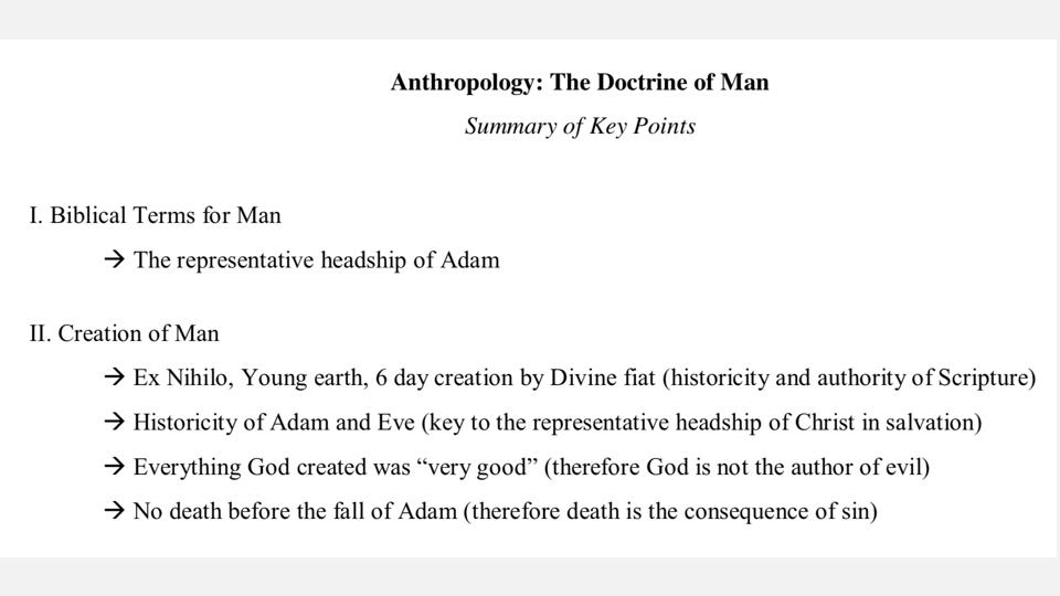 Sermon #31. CBC. 4.22.18 PM. Doctrinal Statement. Man & Sin. projection.005.jpeg