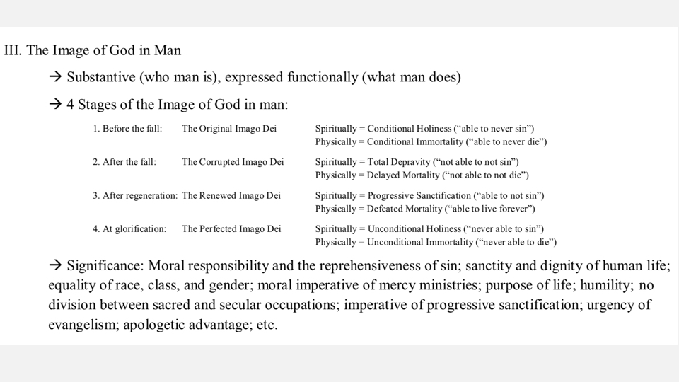 Sermon #31. CBC. 4.22.18 PM. Doctrinal Statement. Man & Sin. projection.006.jpeg