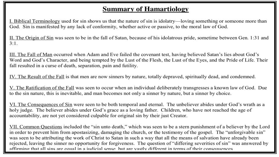 Sermon #31. CBC. 4.22.18 PM. Doctrinal Statement. Man & Sin. projection.008.jpeg