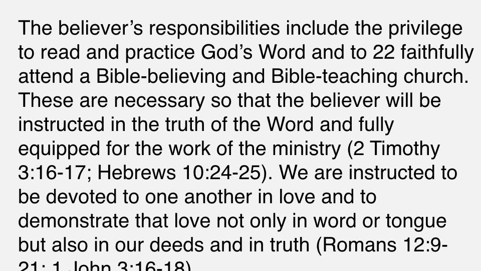 Sermon #42. CBC. 7.1.18 PM. Doctrinal Statement. The Christian Life. proj.007.jpeg