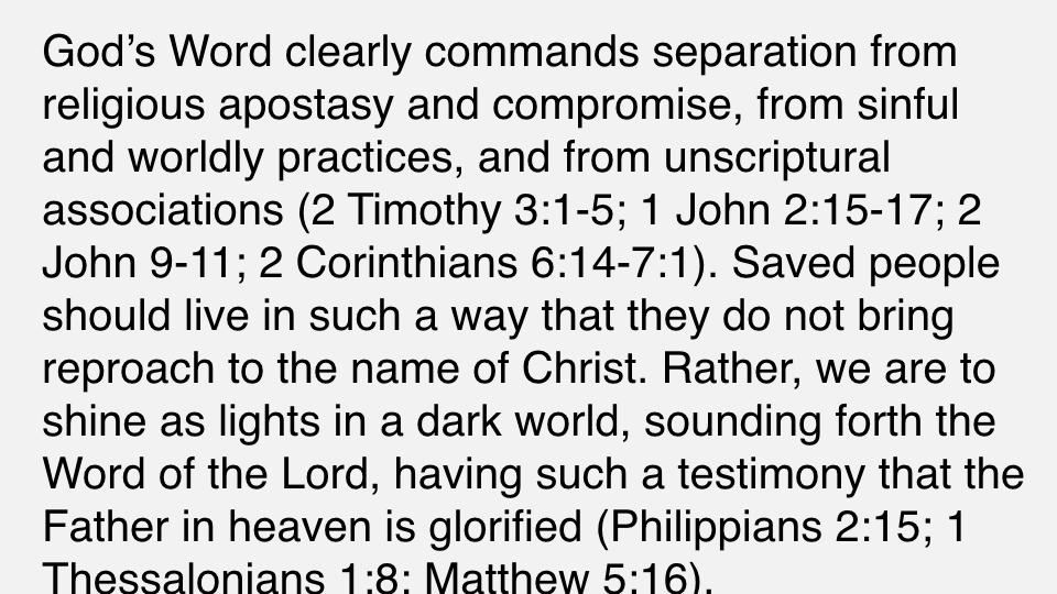 Sermon #42. CBC. 7.1.18 PM. Doctrinal Statement. The Christian Life. proj.008.jpeg