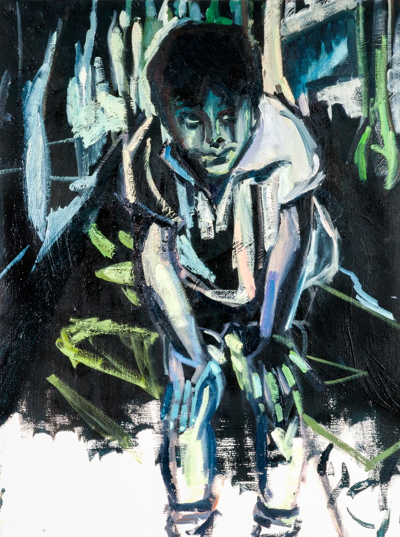 Yiftach, Oil on canvas, 80X60 cm, 2013