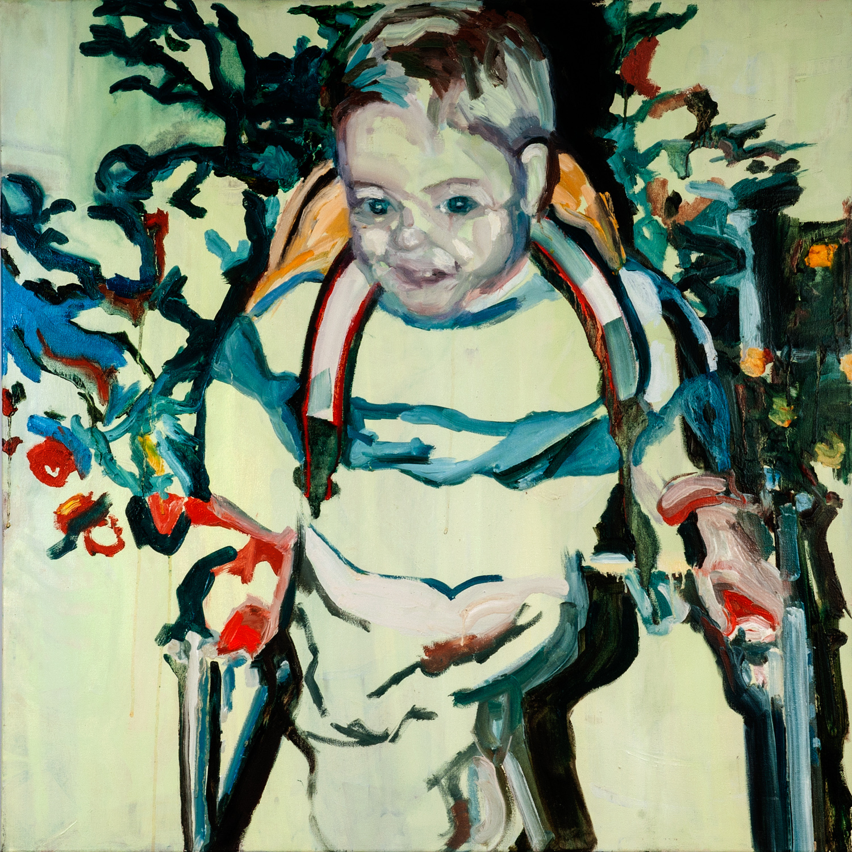 Michael, Oil on canvas, 90X90 cm, 2012