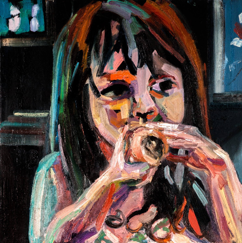 Abigail, Oil on canvas, 50X50 cm, 2012