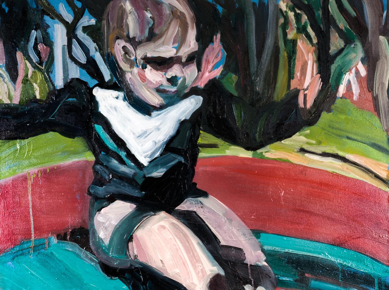 Carousel,Oil on canvas, 60X80 cm, 2013