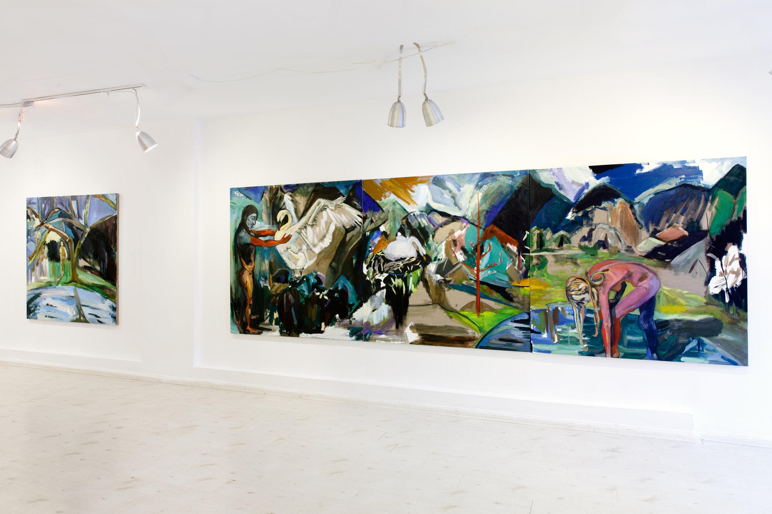 Hippodrome, Hanina gallery, Tel Aviv, 2017