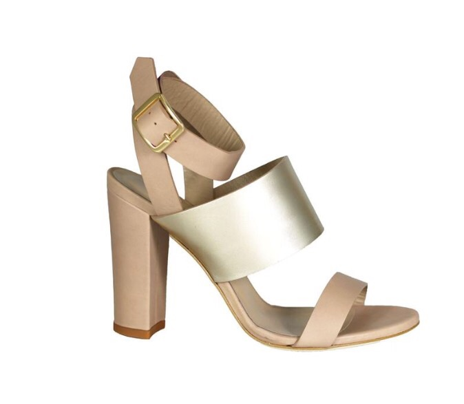 The  MEL  Heel     I do feel like her shoes run about a half a size too small, so if your in between sizes, order up!