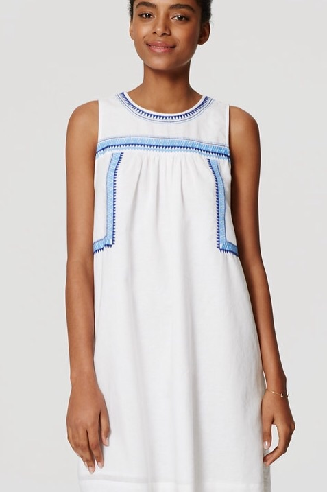Embroidered dress ( LOVE THIS GUY!)