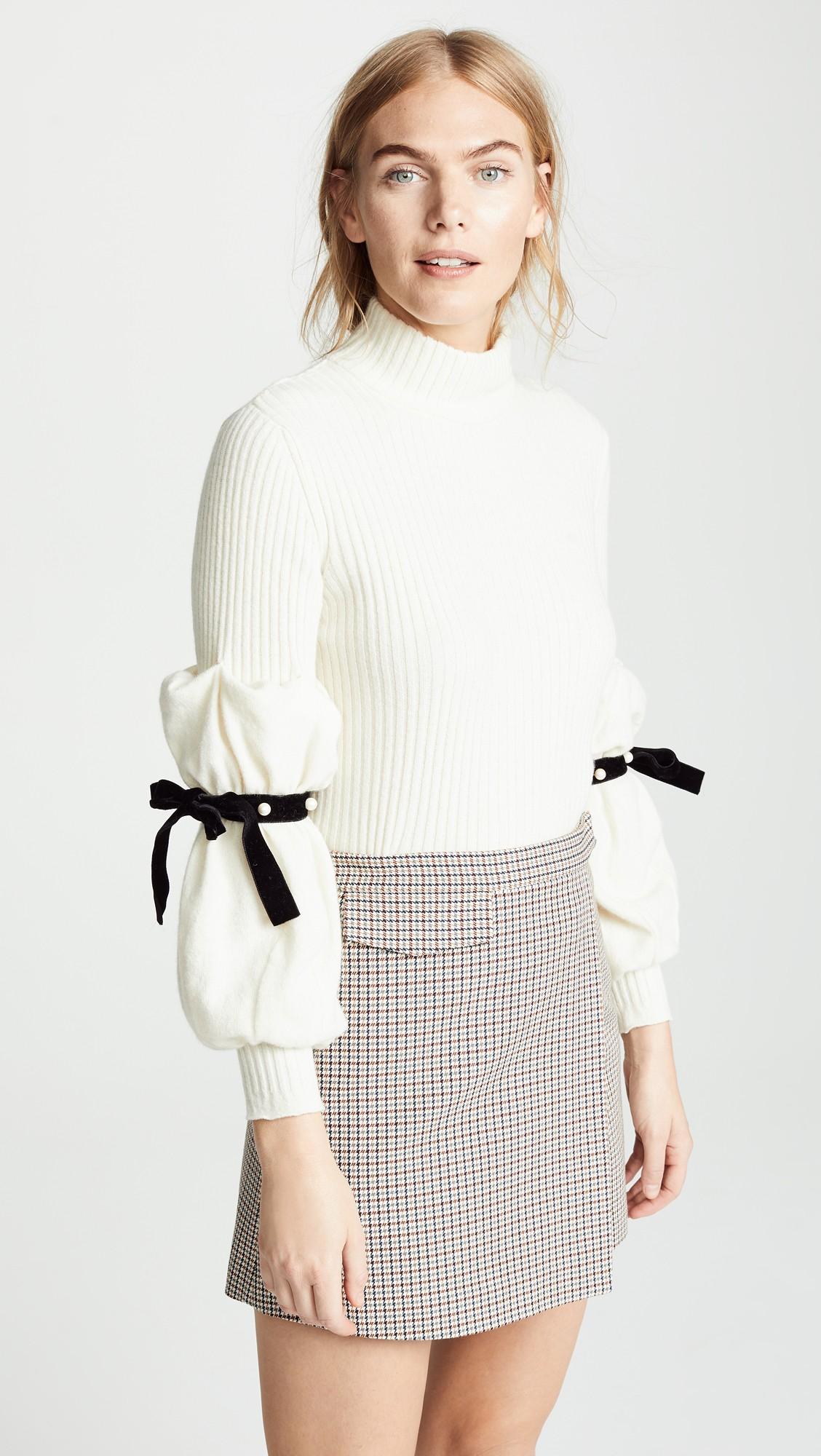 Philosophy di Lorenzo Serafini Tie Sleeve Sweater