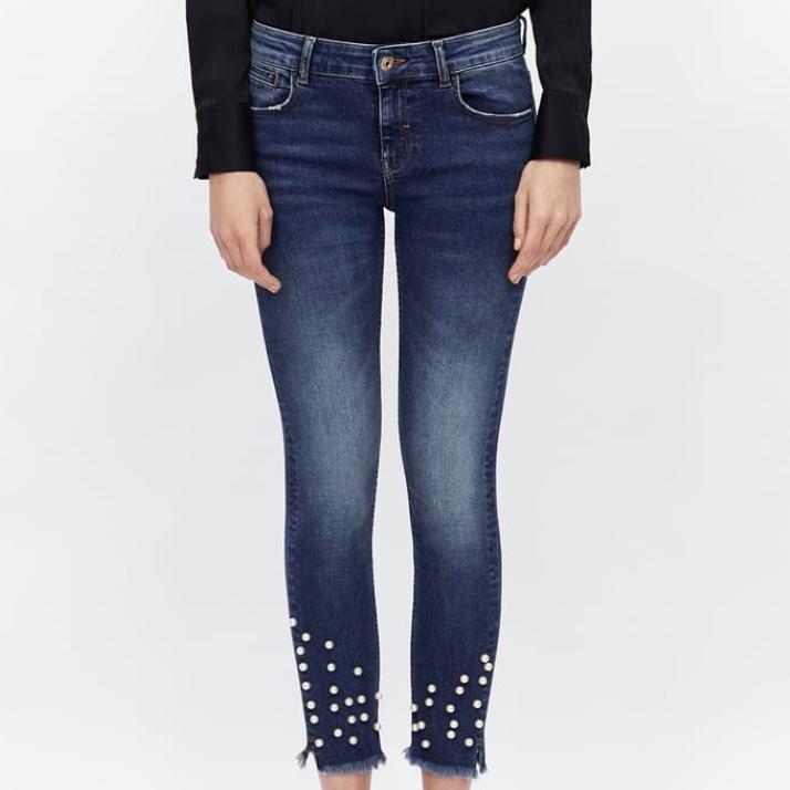 Zara Pearl Jeans